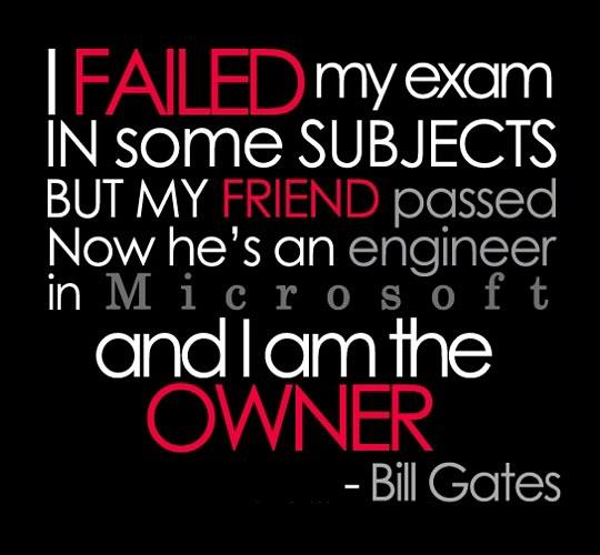 funny-bill-gates-quotes-exam-fail1