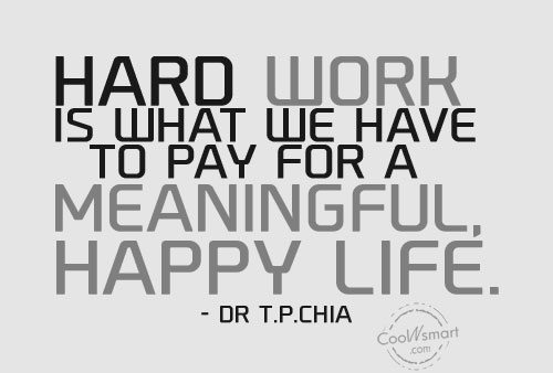 Inspirational quotes on hardwork