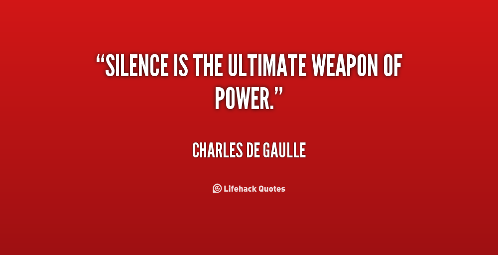 Pics Photos - Quotes About Silence Quotes About Silence Quotes