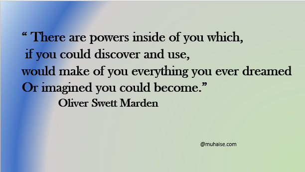 Powers inside of you