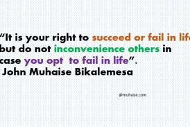 Success or failure in life